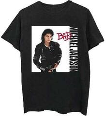 Michael Jackson Unisex Tee Bad Black XXL