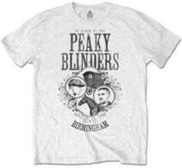 Peaky Blinders Unisex Tee Horse & Cart White