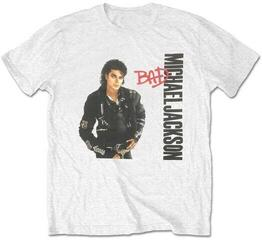 Michael Jackson Unisex Tee Bad White XL
