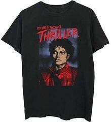 Michael Jackson Unisex Tee Thriller Pose Black