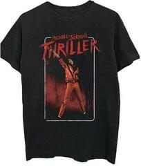 Michael Jackson Unisex Tee Thriller White Red Suit M