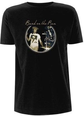 Paul McCartney Unisex Tee Wings Band on the Run (Back Print) M