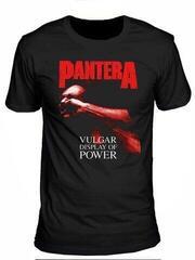 Pantera Unisex Tee Vulgar Display of Power Red Black