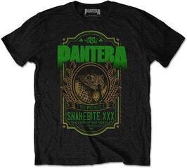 Pantera Unisex Tee Snakebite XXX Label Black