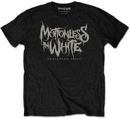 Motionless In White Unisex Tee Graveyard Shift Black