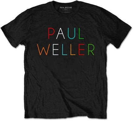 Paul Weller Unisex Tee Multicolour Logo L