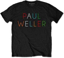 Paul Weller Unisex Tee Multicolour Logo XL