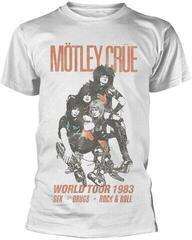 Motley Crue Unisex Tee World Tour Vintage L