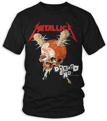 Metallica Unisex Tee Damage Inc (Back Print) Black