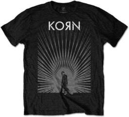 Korn Unisex Tee Radiate Glow Black