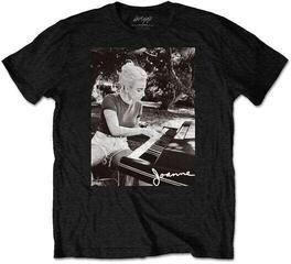 Lady Gaga Unisex Tee Joanne Piano Black