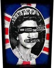Rock Off The Sex Pistols Back Patch God Save the Queen (Loose)