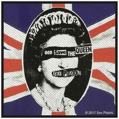 Rock Off The Sex Pistols Standard Patch God Save The Queen (Retail Pack)