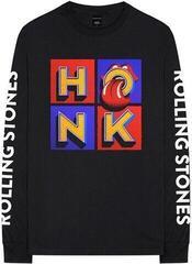 Rock Off The Rolling Stones Unisex Sweatshirt Honk Album/Sleeves (Sleeve Print) Black
