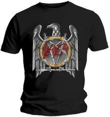 Slayer Unisex Tee Silver Eagle Black