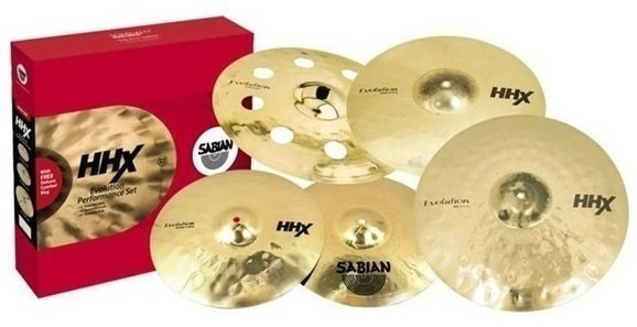 Sabian 15005XEBP HHX Evolution Cymbal Box Set