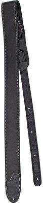 Fender F Custom Leather Electric Guitar Strap Black