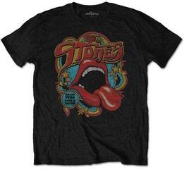 The Rolling Stones Unisex Tee Retro 70s Vibe (Soft-Hand Inks) XL