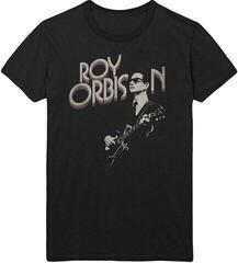 Roy Orbison Unisex Tee Guitar & Logo M