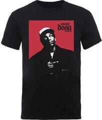 Snoop Dogg Unisex Tee Red Square L