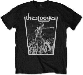 Iggy & The Stooges Unisex Tee Crowdwalk Black