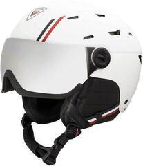 Rossignol Allspeed Visor Impacts Ski Helmet White XL 19/20