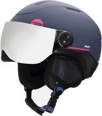 Rossignol Whoopee Visor Impacts Ski Helmet Blue/Pink