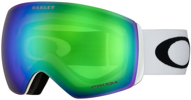 Oakley Flight Deck Matte White Prizm Jade Iridium 16/17