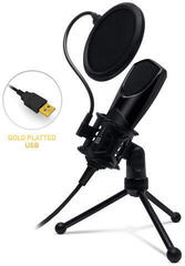 Connect IT YouMic USB with Pop Filter Black