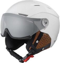 Bollé Backline Visor Premium Ski Helmet Shiny Galaxy White/Cognac