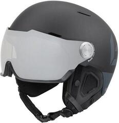 Bollé Might Visor Premium Ski Helmet Matte Black/Grey