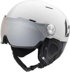 Bollé Might Visor Premium Ski Helmet Shiny White/Black