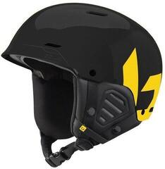 Bollé Mute Ski Helmet Shiny Black/Yellow