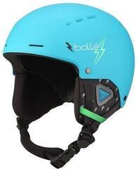 Bollé Quiz Ski Helmet Matte Cyan Flash