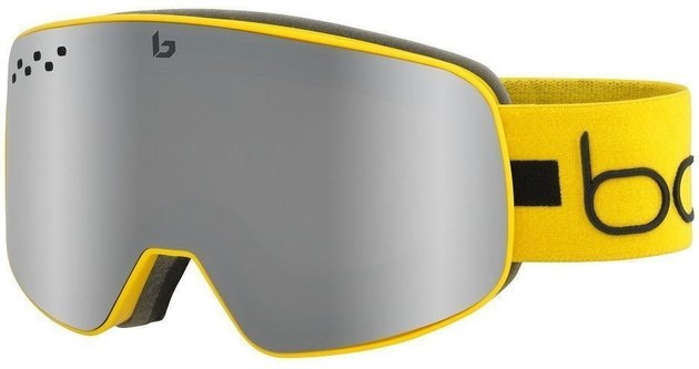Bollé Nevada Matte Yellow Line Black Chrome 19/20