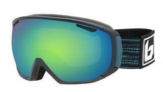 Bollé TSAR Matte Black/Blue Matrix Green Emerald 19/20