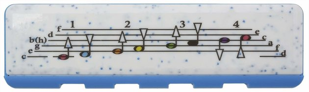 Hohner Speedy Dark Blue/Light Blue