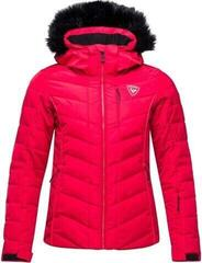 Rossignol Rapide Pearly Womens Ski Jacket Carmin M