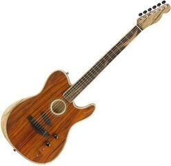 Fender American Acoustasonic Telecaster Cocobolo