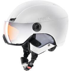 UVEX Hlmt 400 Visor Style White Mat 58-61 cm 20/21