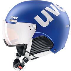 UVEX Hlmt 500 Visor Cobalt-White Mat 59-62 cm 20/21
