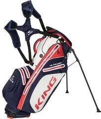 Cobra King UltraDry Stand Bag Peacoat/High Risk Red/Bright White