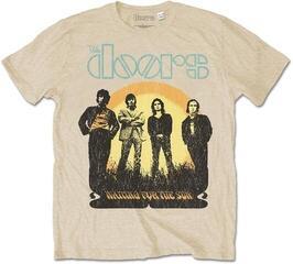 The Doors Unisex Tee 1968 Tour (Back Print) Sand