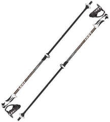 Leki Drifter Vario S Ski Poles Black/White/Anthracite/Orange 90-120 19/20