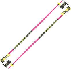 Leki Worldcup Lite SL Pink/Black/White/Yellow