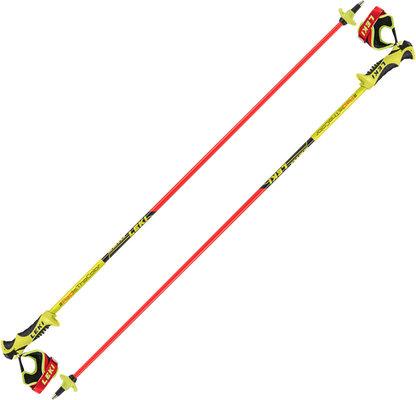 Leki Worldcup Racing Comp Junior Ski Poles Neonred/Neonyellow/Black 115 19/20