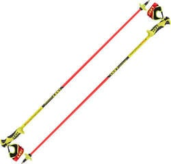 Leki Worldcup Racing Comp Junior Neonred/Neonyellow/Black