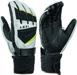 Leki Griffin S Mens White/Black/Lime