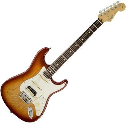 Fender American Standard Strat HSS Shawbucker RW Sienna Sunburst
