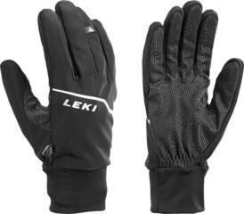 Leki Tour Lite Mens Ski Gloves Black/Chrome/White